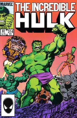 The Incredible Hulk Vol. 1 (1962-1999) (Comic Book) #314