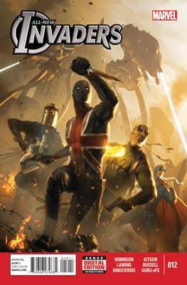 All-New Invaders (2014) (Comic Book) #12