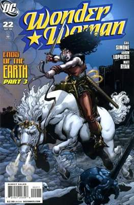 Wonder Woman Vol. 3 (2006-2011) (Comic Book) #22