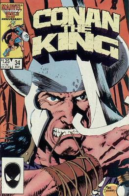 King Conan / Conan the King (Comic Book 48 pp) #34