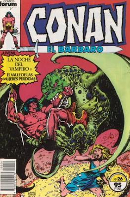 Conan el Bárbaro (1983-1994) (Grapa. 19x27. 36/32/24 páginas. Color.) #26