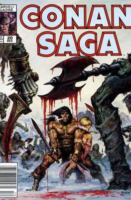 Conan Saga (Comic-book) #20