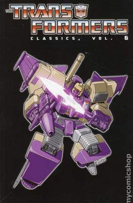 Transformers Classic (Softcover, 348-276 pp) #6