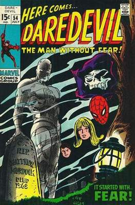 Daredevil Vol. 1 (1964-1998) (Comic Book) #54