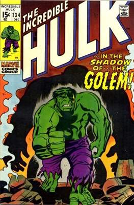 The Incredible Hulk Vol.1 (Saddle-stitched. 1962-1999) #134