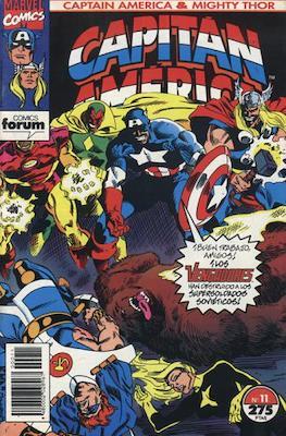 Capitán América & Thor el Poderoso Vol. 2 (1993-1994) (Grapa. 48 páginas.) #11