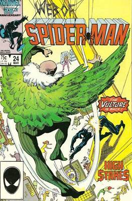 Web of Spider-Man Vol. 1 (1985-1995) (Comic-book) #24