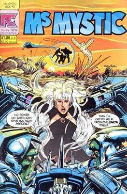 Ms. Mystic (1982-1984) (Grapa) #2