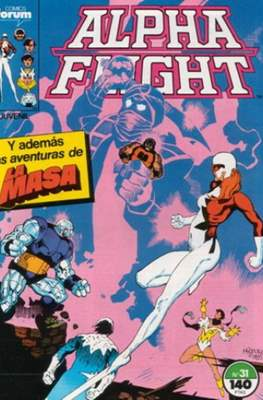 Alpha Flight vol. 1 / Marvel Two-in-one: Alpha Flight & La Masa vol.1 (1985-1992) (Grapa 32-64 pp) #31