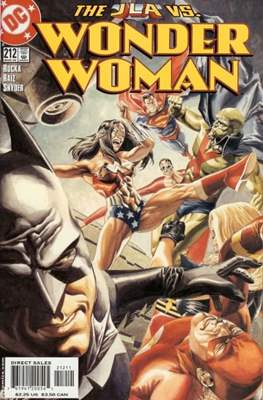 Wonder Woman Vol. 2 (1987-2006) (Comic Book) #212