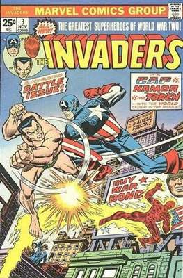 The Invaders (Comic Book. 1975 - 1979) #3