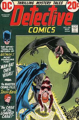 Detective Comics Vol. 1 (1937-2011; 2016-) (Comic Book) #429