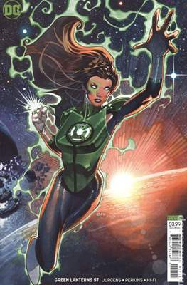 Green Lanterns (Vol. 1 2016-... Variant Covers) #57