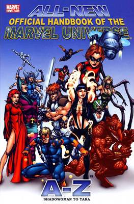 All-New Official Handbook of the Marvel Universe A to Z (Hardcover) #10