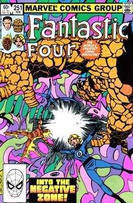 Fantastic Four Vol. 1 (1961-1996) (saddle-stitched) #251