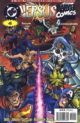 DC versus Marvel / Marvel versus DC (1996-1997). ¡El combate del siglo! (Grapa.) #4