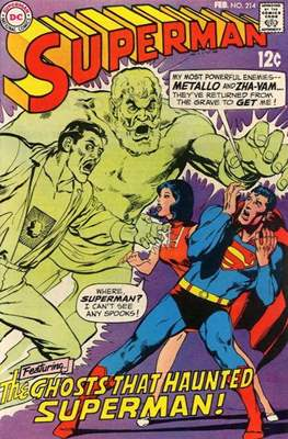 Superman Vol. 1 / Adventures of Superman Vol. 1 (1939-2011) (Comic Book) #214