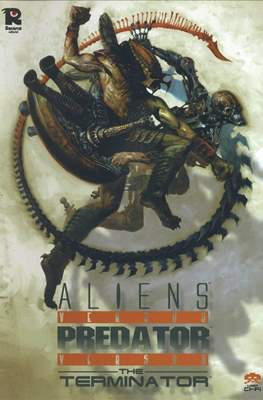 Aliens versus Predator versus The Terminator. Línea Ci-Fi