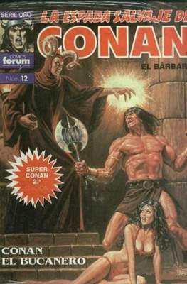 Super Conan. La Espada Salvaje de Conan (Cartoné. B/N. (1989). 2ª Edición.) #12