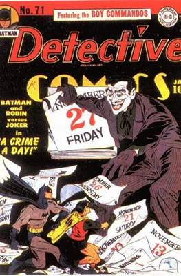Detective Comics Vol. 1 (1937-2011; 2016-) (Comic Book) #71