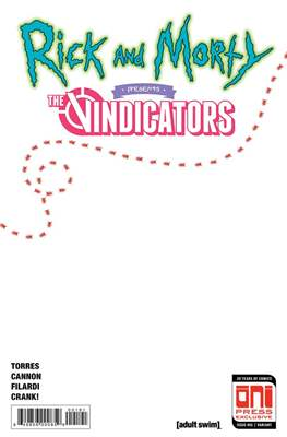 Rick and Morty Presents The Vindicators (Variant Covers)