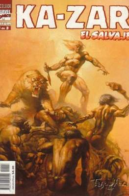 Ka-Zar El salvaje (1999) (Grapa. B/N.) #3