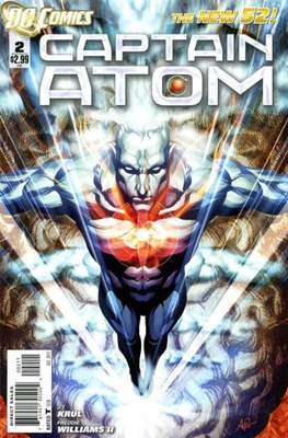 Captain Atom The New 52! (2011-2012) #2