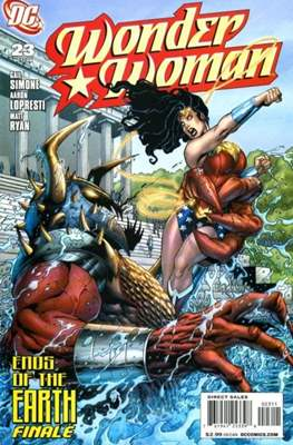 Wonder Woman Vol. 3 (2006-2011) (Comic Book) #23