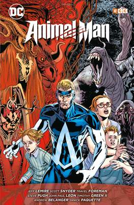 Animal Man: El reino rojo (Cartoné 808 pp) #
