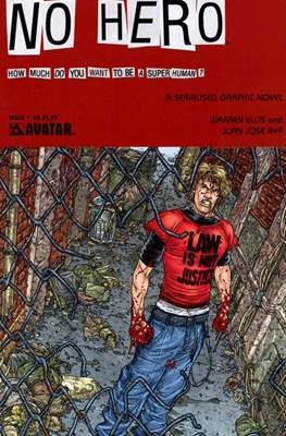 No Hero (Saddle-stitched. 2008) #1