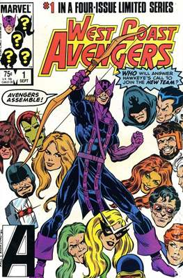 West Coast Avengers Vol 1 (1984) #1