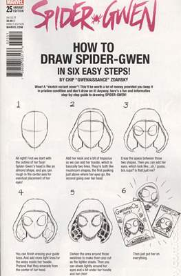 Spider-Gwen Vol. 2. Variant Covers (2015-...) #25.2