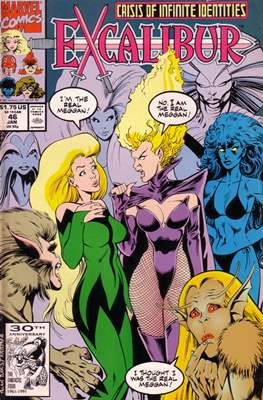 Excalibur Vol. 1 (Comic Book) #46