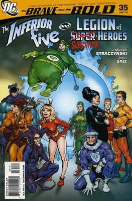 The Brave and the Bold (2007-2010) (Comic Book) #35