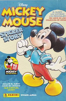Mickey Mouse Sticker Story (Rústica 64 pp) #