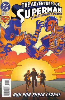 Superman Vol. 1 / Adventures of Superman Vol. 1 (1939-2011) (Comic Book) #524