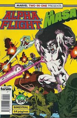Alpha Flight Vol. 1 / Marvel Two-in-one: Alpha Flight & La Masa Vol.1 (1985-1992) (Grapa 32-64 pp) #45