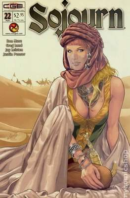 Sojourn (Comic-book) #22