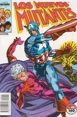 Los Nuevos Mutantes Vol. 1 (1986-1990) (Grapa 32-64 pp) #40