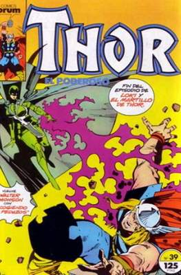 Thor, el Poderoso (1983-1987) (Grapa 36 pp) #39