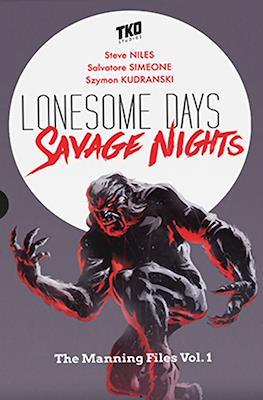 Lonesome Days Savage Nights