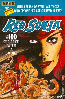 Red Sonja (2013-2015 Variant Cover) (Comic Book) #100.1
