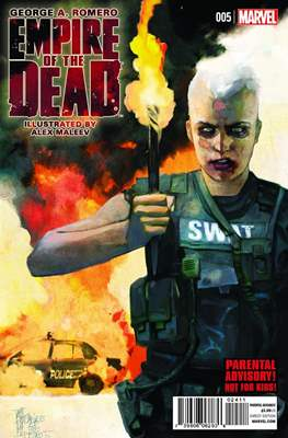 George A. Romero Empire of the Dead (comic-book) #5