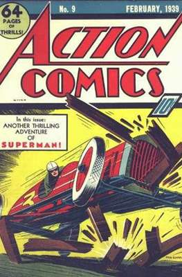 Action Comics Vol. 1 (1938-2011; 2016-) (Comic Book) #9
