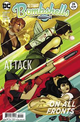 DC Comics: Bombshells (Comic Book) #24