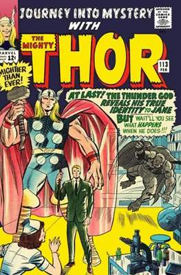 Journey into Mystery / Thor Vol 1 (Comic Book) #113