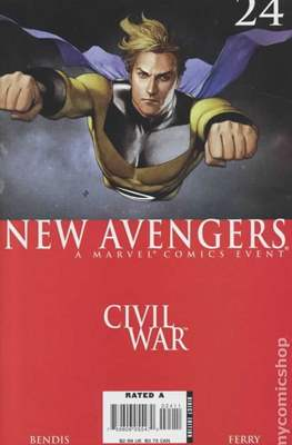 The New Avengers Vol. 1 (2005-2010) (Comic Book) #24