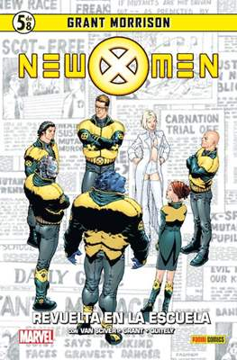 Coleccionable New X-Men (Cartoné) #5