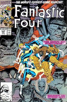 Fantastic Four Vol. 1 (1961-1996) (saddle-stitched) #347