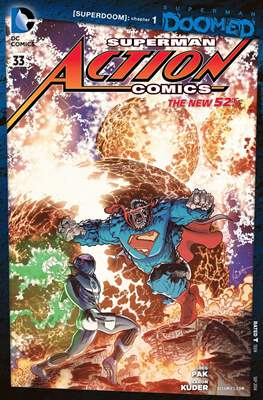 Action Comics Vol. 2 (2011-2016) (Grapa) #33